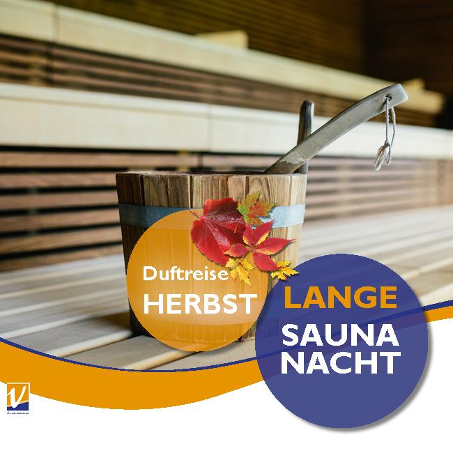 """02. November - Lange Saunanacht """"Duftreise HERBST"""""""