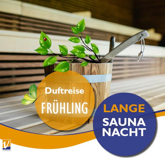 """01. März - Lange Saunanacht - Duftreise """"Frühling"""""""