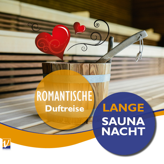 """01. Februar - Lange Saunanacht """"Romantische Duftreise"""""""